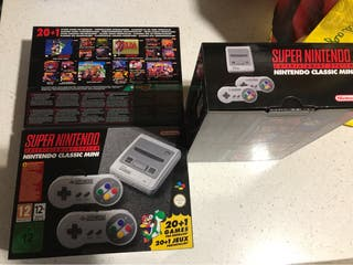SNES Mini Super Nintendo Classic Mini a estrenar