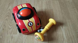 coche aprendizaje gateo Fisher price