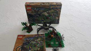 bosque prohibido de lego harry potter 4727