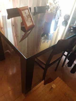 mesa y sillas wenwe