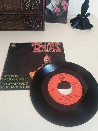 """Vinilo """" The Byrds"""" 45 rpm. Año 1970"""