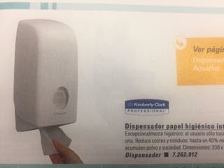 4 Dispensadores papel NUEVOS