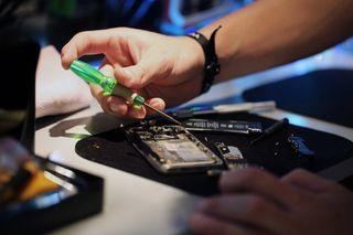 Reparación de dispositivos