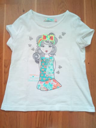 Camiseta niña Esfera