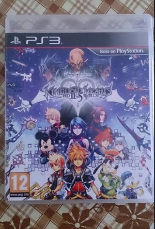 Kingdom hearts 2.5 hd remix.