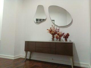 mueble lacado beig/marrón NUEVO