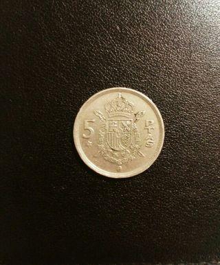 Moneda 5 Pesetas 1975 colección