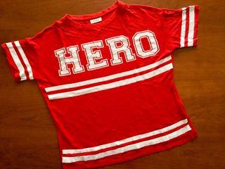 Camiseta de lino HERO Pull & Bear