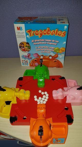 juego Traga bolas (juego clasico)