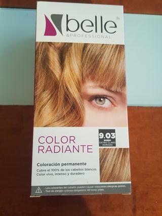 Tinte cabello pelo Belle 9.03 (Rubio)
