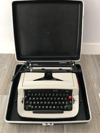 Maquina escribir con maletin