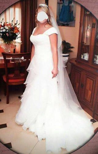 vestido de novia talla grande de segunda mano en la provincia de