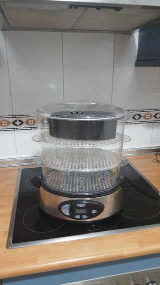 Maquina cocina al vapor.