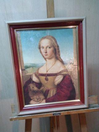 Cuadro retrato antiguo