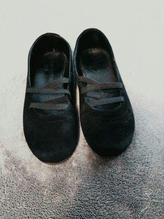 zapato niña negro