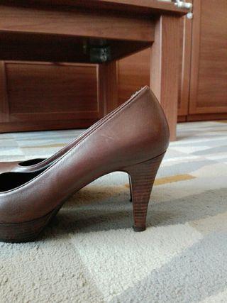 Zapatos piel martinelli marrón 39