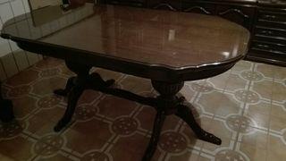 mesa vintage madera