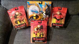 Pack 4 muñecos Los Increíbles