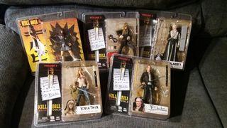 Pack 5 muñecos de acción Kill Bill