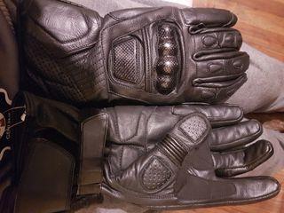guantes de moto pal invierno proteccion carbono.