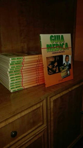 colección de libros guia medica