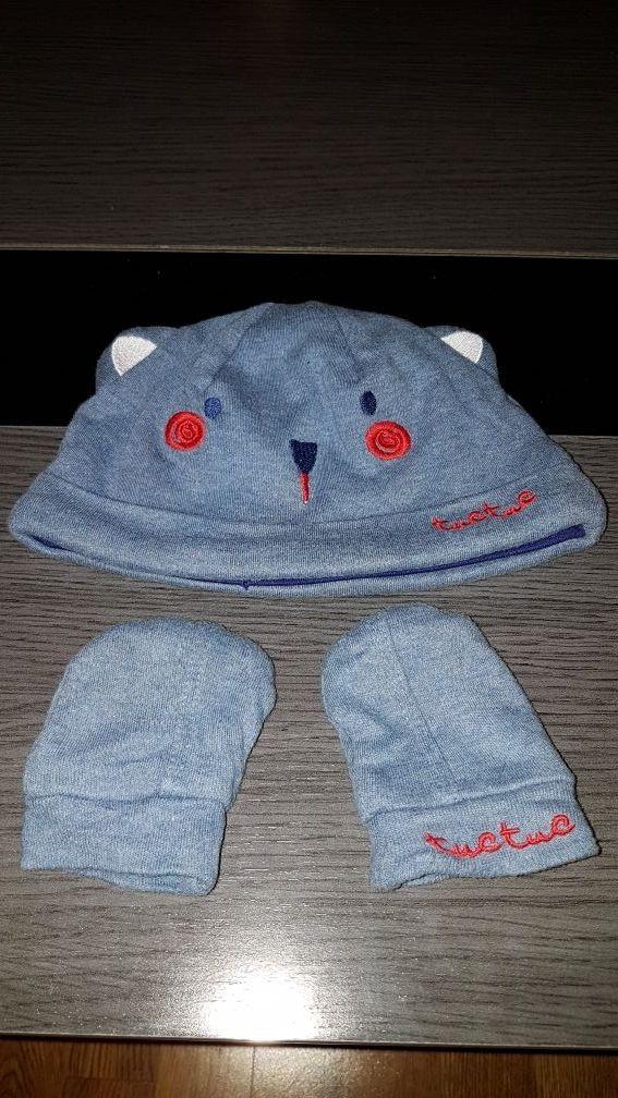 Gorro y guantes bebe complementos de ropa