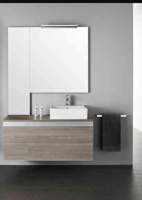 Mueble de lavabo moderno de segunda mano por 160 en for Lavabos segunda mano