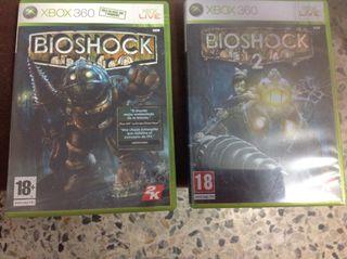 Bioshock 1 y 2 para la XBOX 360