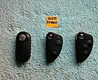 Carcasa mando control remoto llave Alfa Romeo