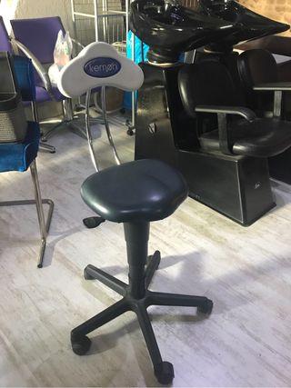 taburete de corte peluqueria
