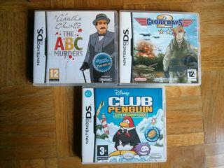 Lote Videojuegos Nintendo DS