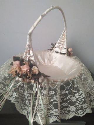 comunion, boda, bautizo cesta reparto detalles