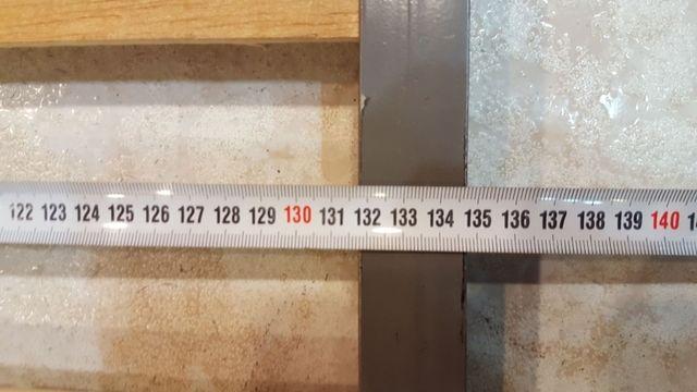Somier 135x190 con 6 patas