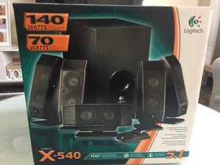 Altavoces Logitech X-540