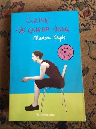 Libro Claire se queda sola