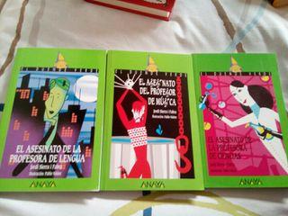 Libros de el asesinato del profesor de...