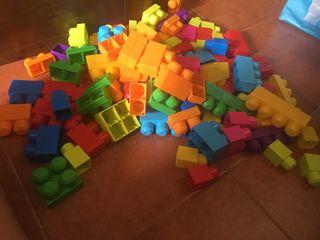 Lote de Mega blocks