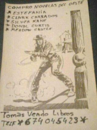 Novela del oeste terror cienciaficción policíaca