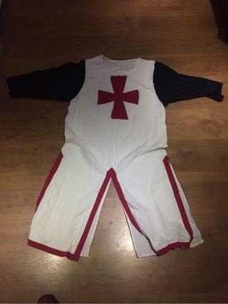 Disfraz cruzado medieval