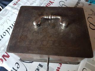 caja de caudales vintage