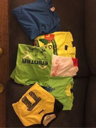 6 camisetas running