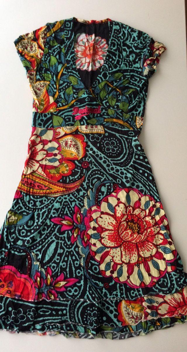 Vestido floral Desigual