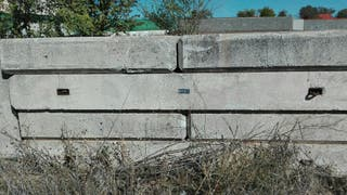 bloques de hormigón contrapesos