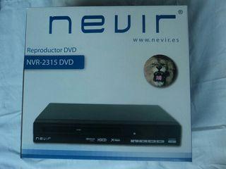 Reproductor dvd + 30 películas