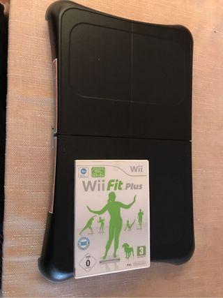 Tabla wii fit +juego