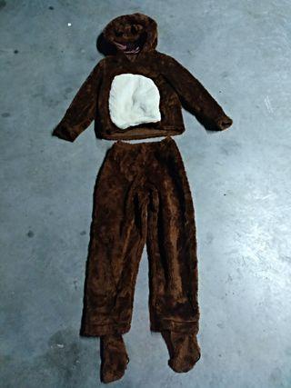 Disfraz de oso infantil.