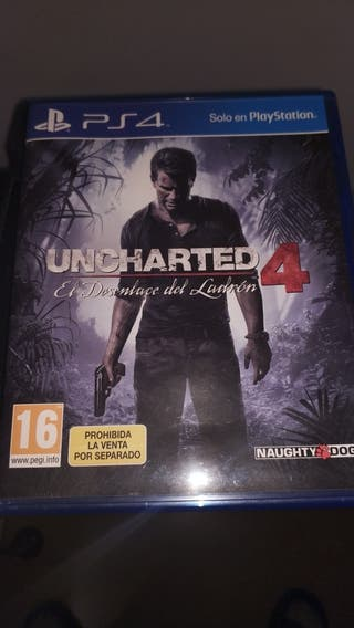 ucharted 4 ps4