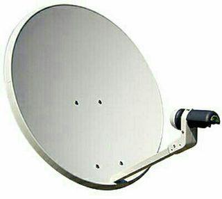 antena parabólica y TDT