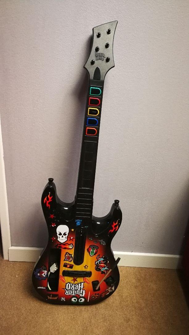 wi guitar hero