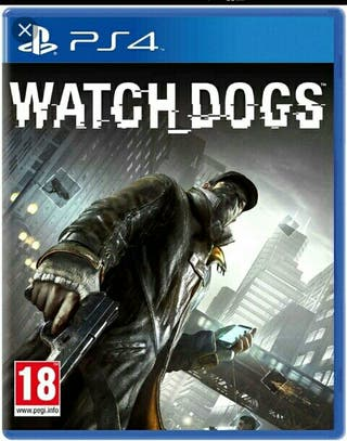 Videojuego Watch Dogs ps4